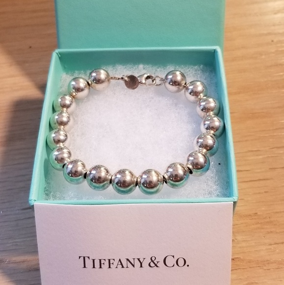 987694ca8 Tiffany & Co. Sterling Silver Ball Bracelet. M_5b65e4967386bcf19bf6fcf9